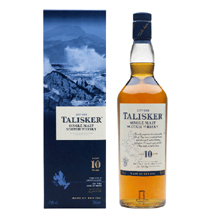 Single Malt Scotch Whisky 10 Years - 70cl - Whisky - Talisker