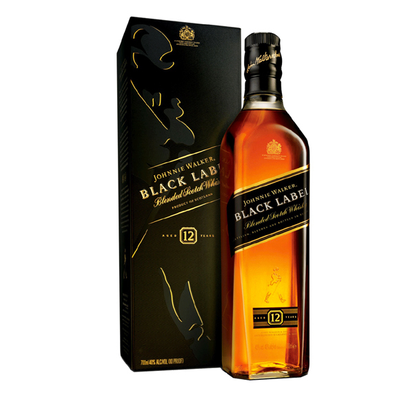 Blended Scotch Whisky Black Label 12 Years - 70cl - Whisky - Johnnie Walker & Sons
