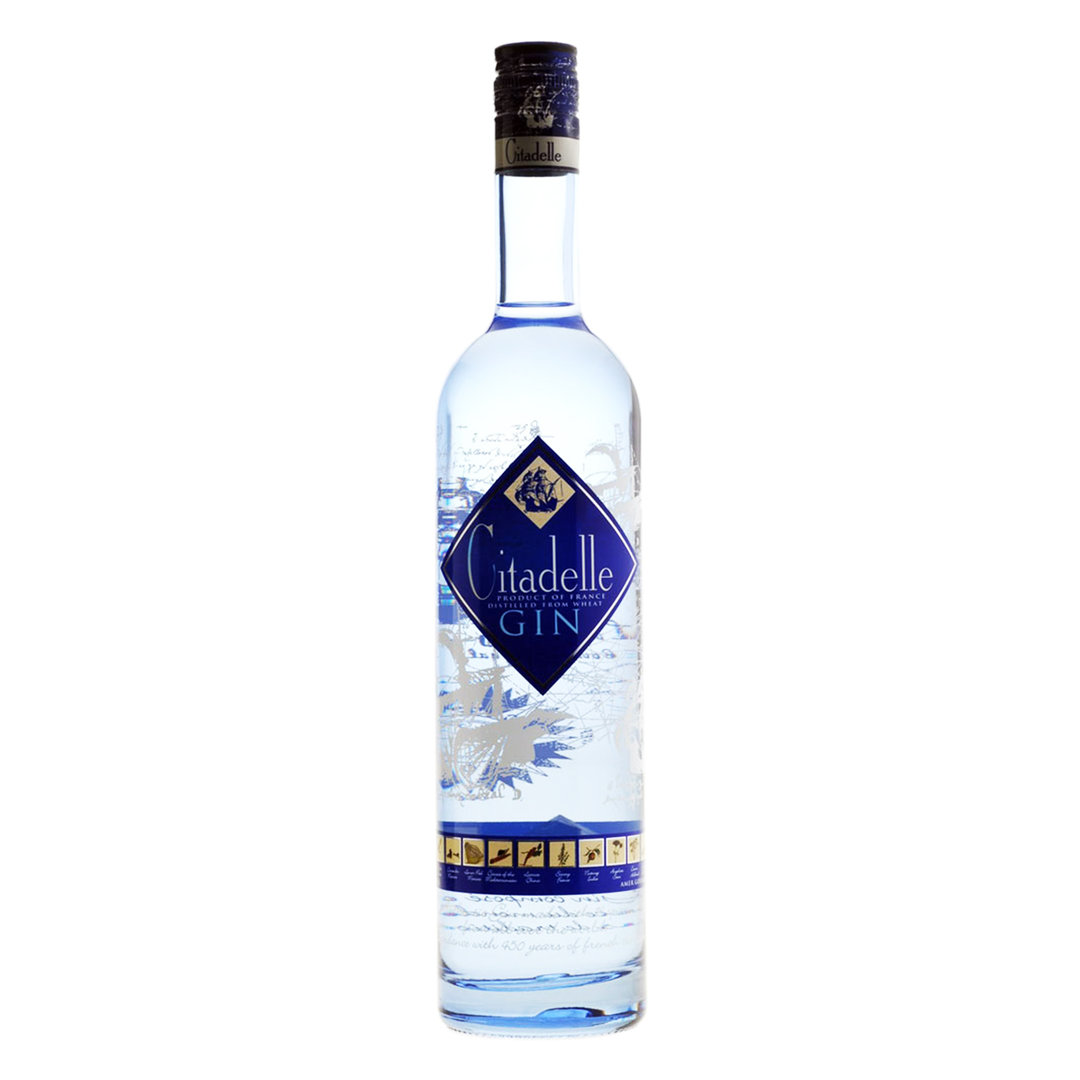 Citadelle Premium French Dry Gin - 70cl - Gin - Cognac Ferrand