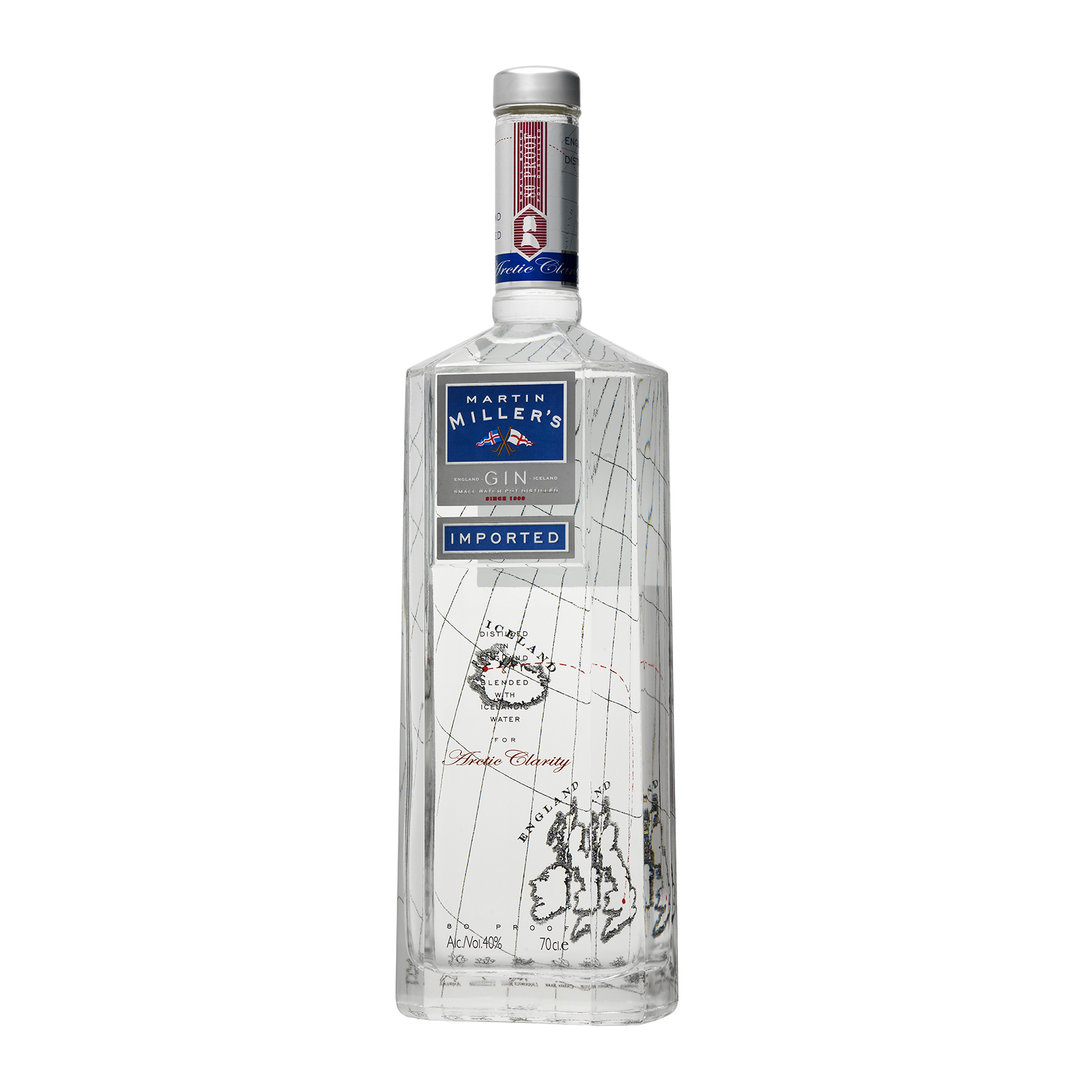 Martin Miller's Blended with Icelandic Water Gin - 70cl - Gin - Reformed Spirits