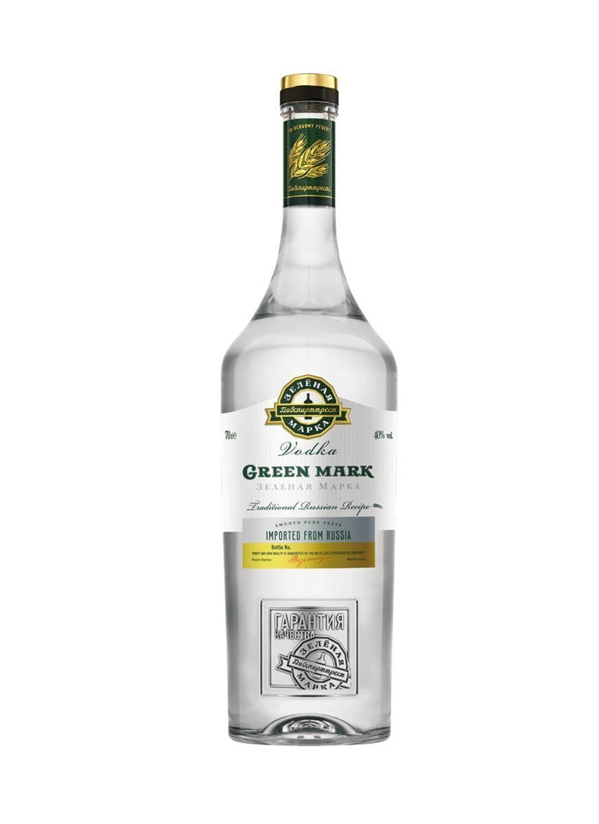 Green Mark Vodka - 100cl - Topaz Distillery