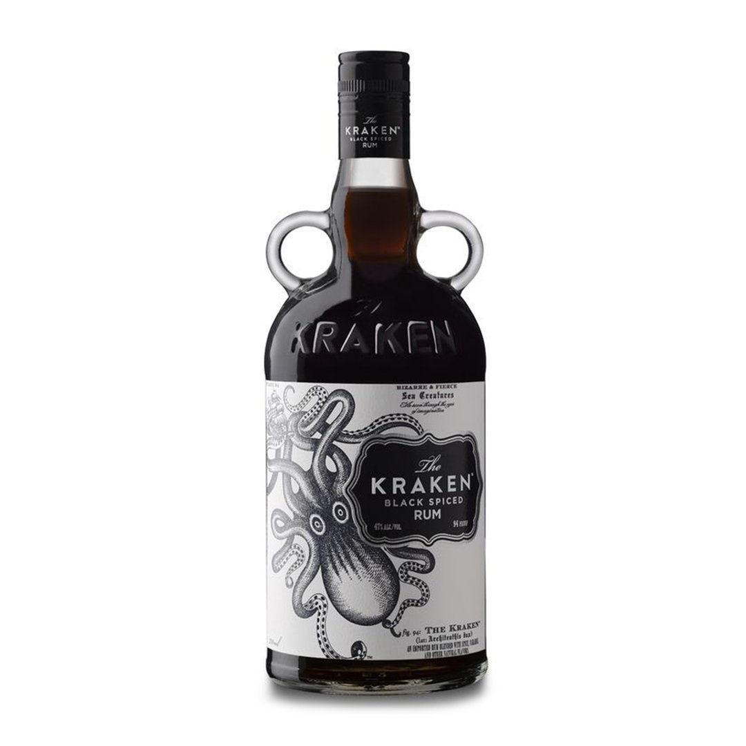 The Kraken Black Spiced Rum - 70cl - Kraken