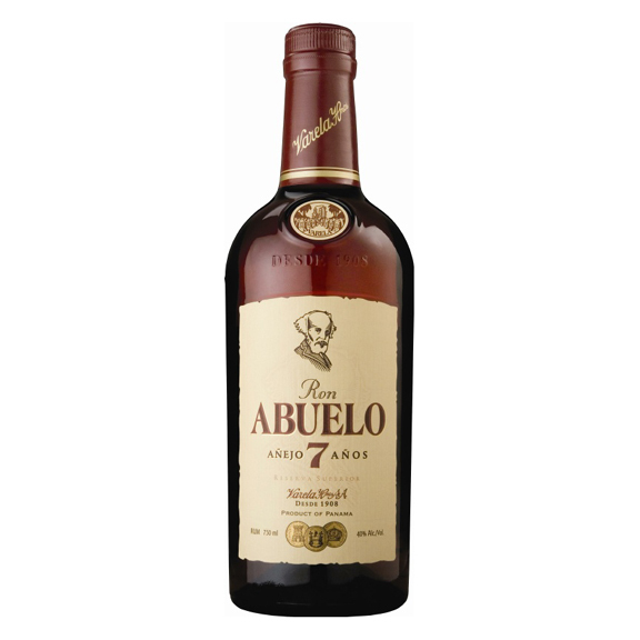 Oak Aged Dark Rum - 7 Years Old - 70cl - Ron Abuelo
