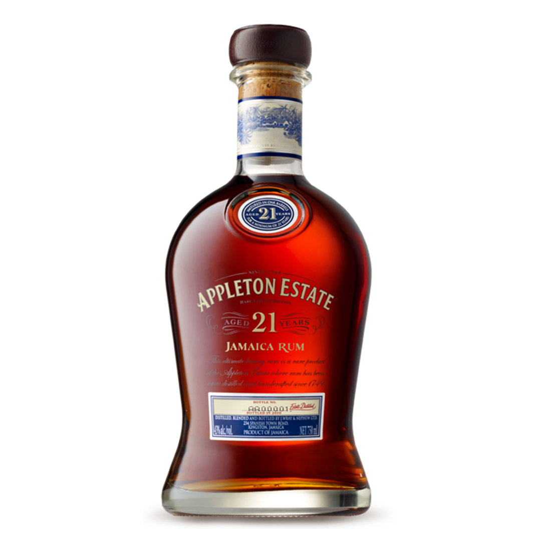 Appleton Estate Rum 21 Years Old  - 70cl - Wray and Nephew