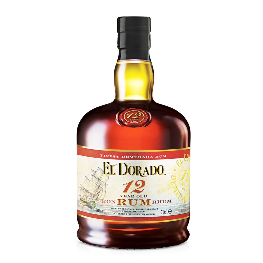El Dorado 12 Years Old - Rum - 70cl - Demerara Distillers