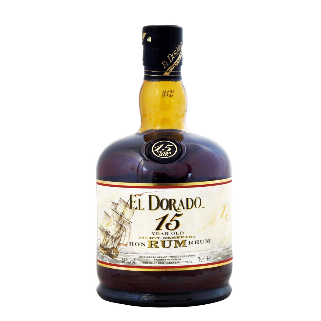 El Dorado 15 Years Old - Rum - 70cl - Demerara Distillers