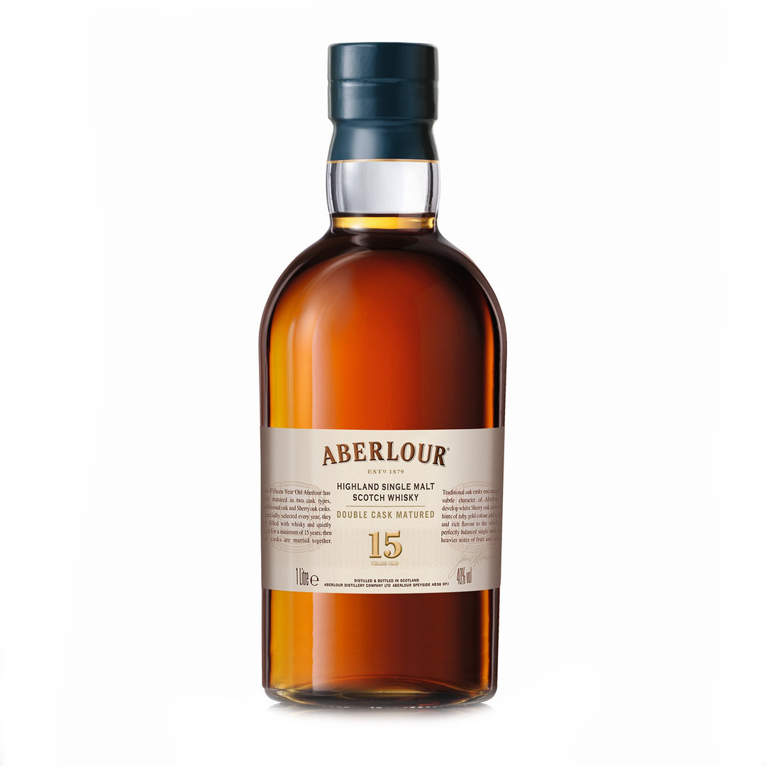 Single Malt Scotch Whisky 15 Years Old - 100cl - Aberlour