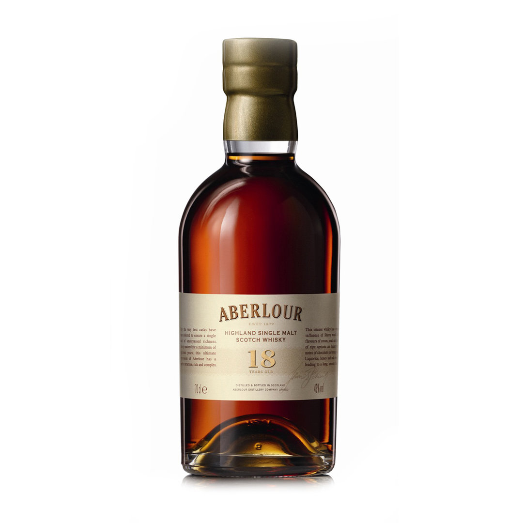 Single Malt Scotch Whisky 18 Years Old - 70cl - Aberlour
