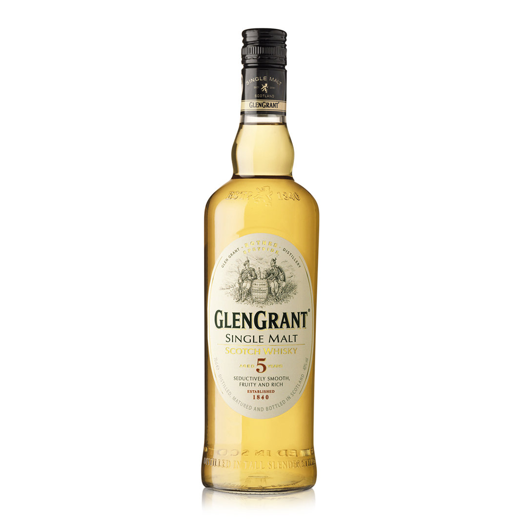 Single Malt Scotch Whisky 5 Years - 100cl - Glen Grant