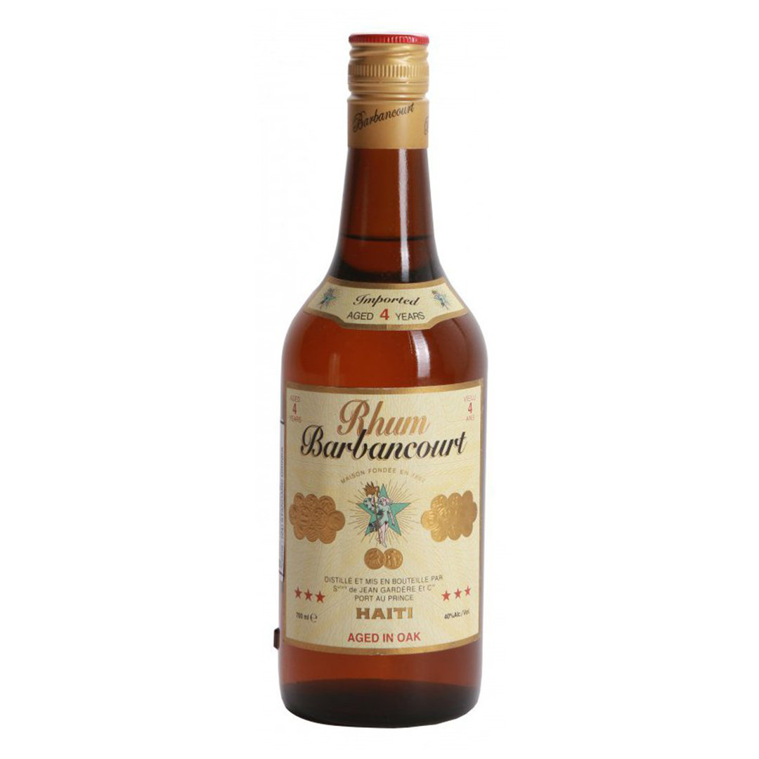 Haiti Rhum Barbancourt *** 4 Years - 70cl - Jean Gardere