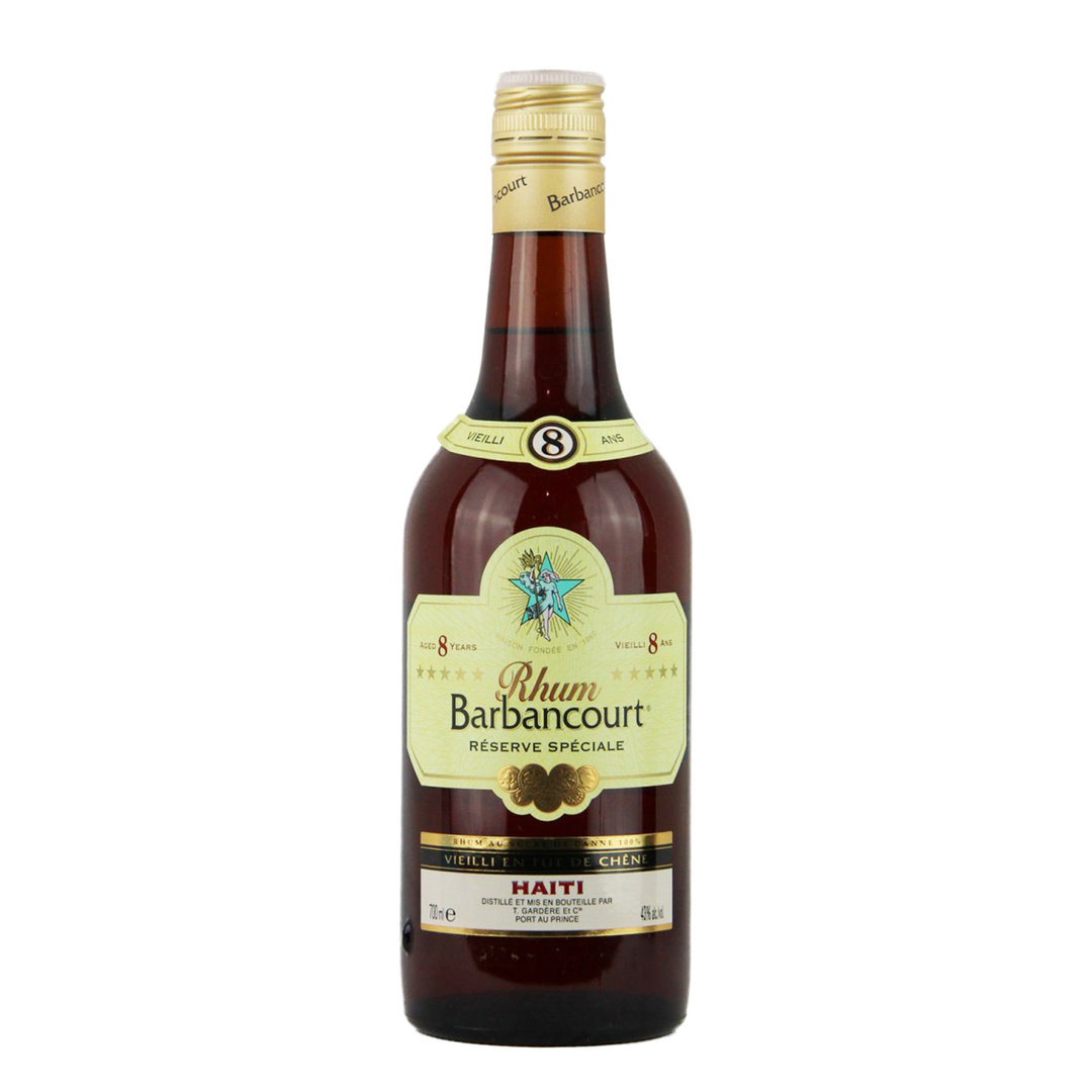 Haiti Rhum Barbancourt ***** 8 Years - 70cl - Jean Gardere
