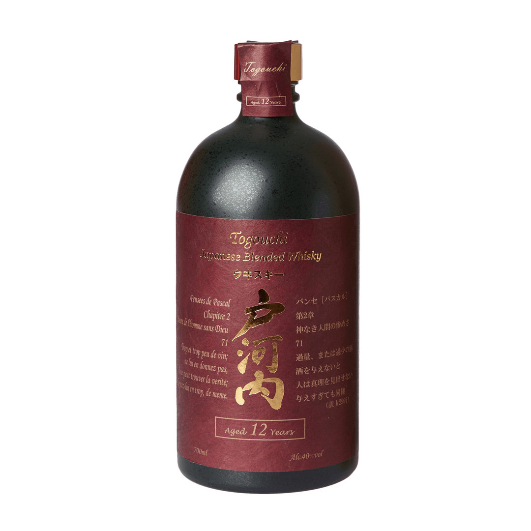 Togouchi 12 Years Japanese Blended Whisky - 70cl - Chugoku Jozo Distillery