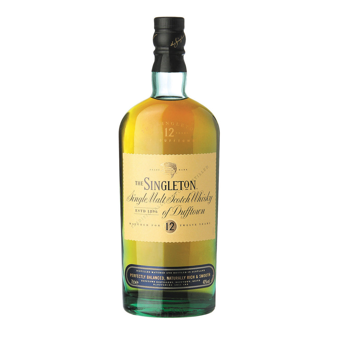 The Singleton 12 Years Single Malt Scotch Whisky - 70cl - The Singleton of Dufftown
