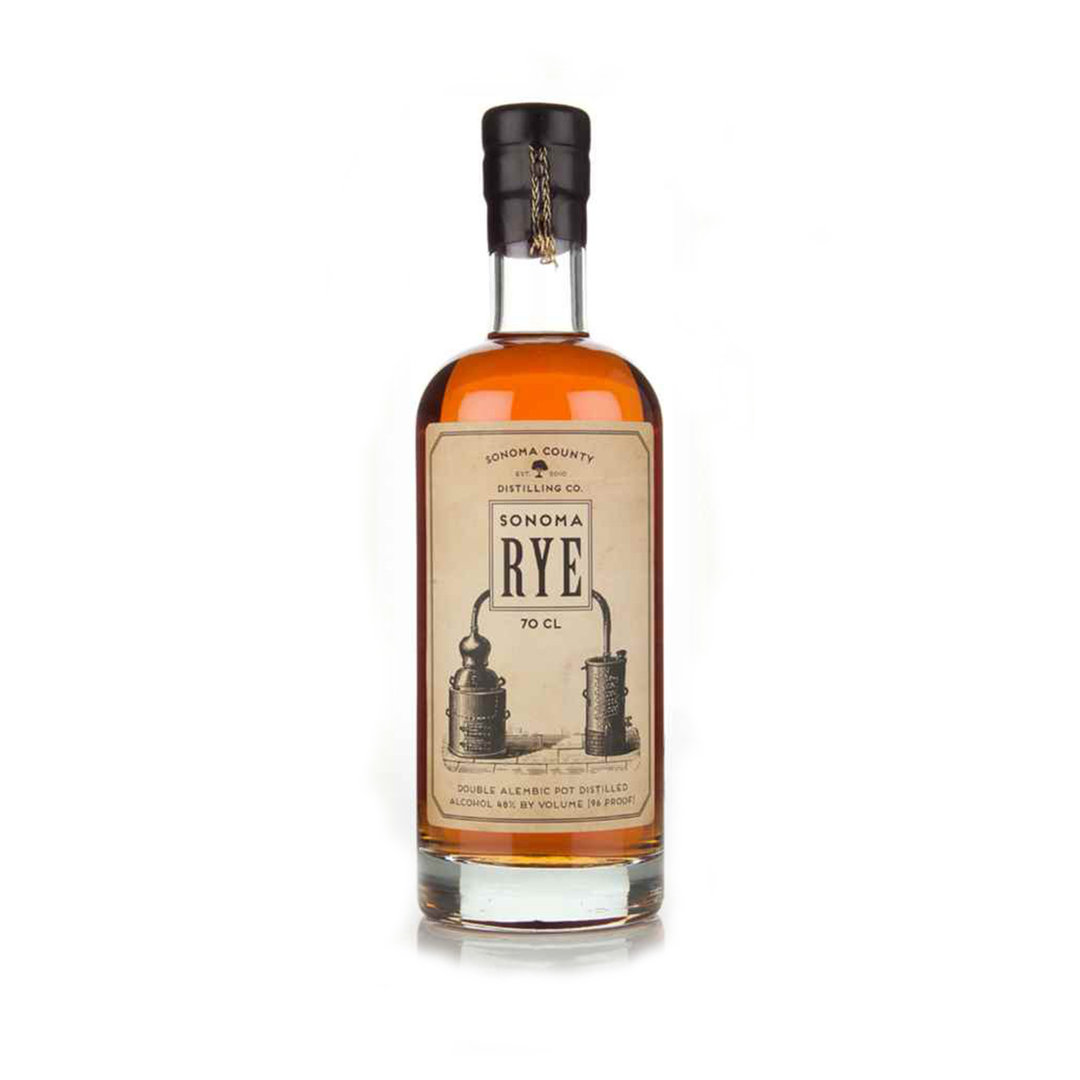 Sonoma County Rye Whisky - 70cl  - Sonoma County Distilling