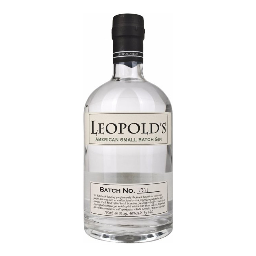 Leopold's American Small Batch Gin - 0.70 - Leopold's Bros