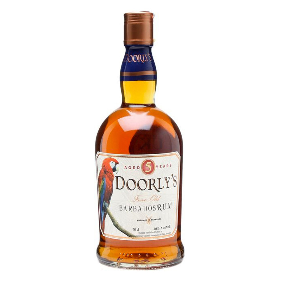 Doorly's 5 Years Fine Old Barbados Rum - 70cl - Foursquare Distillery