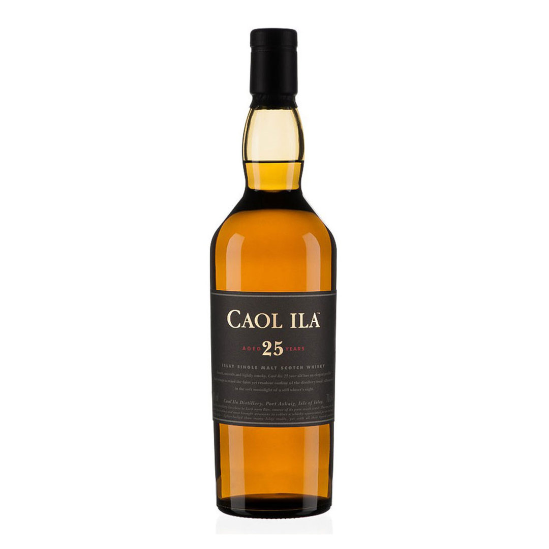 Caol Ila 25 Years Islay Single Malt Scotch - Whisky - 70cl - Caol Ila Distillery