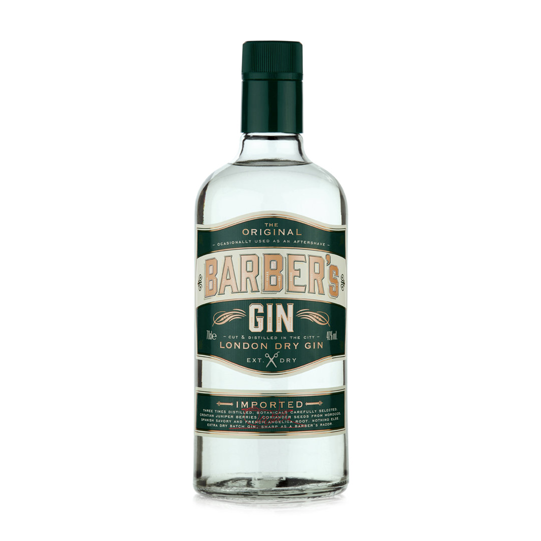 Barber's London Dry Gin Extra Dry - 70cl - Thames Distillers