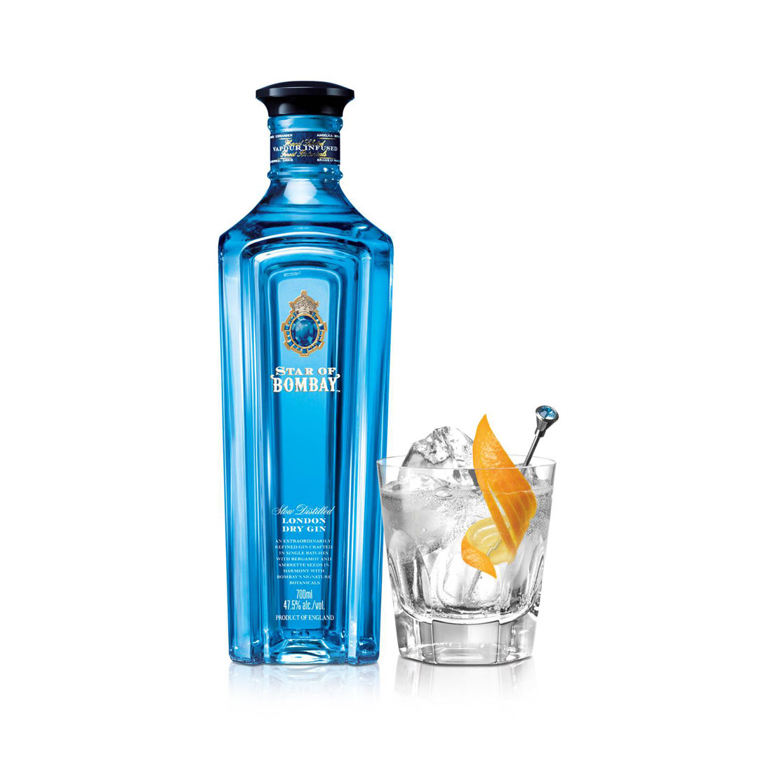 Star of Bombay London Dry Gin - 100cl - Bombay