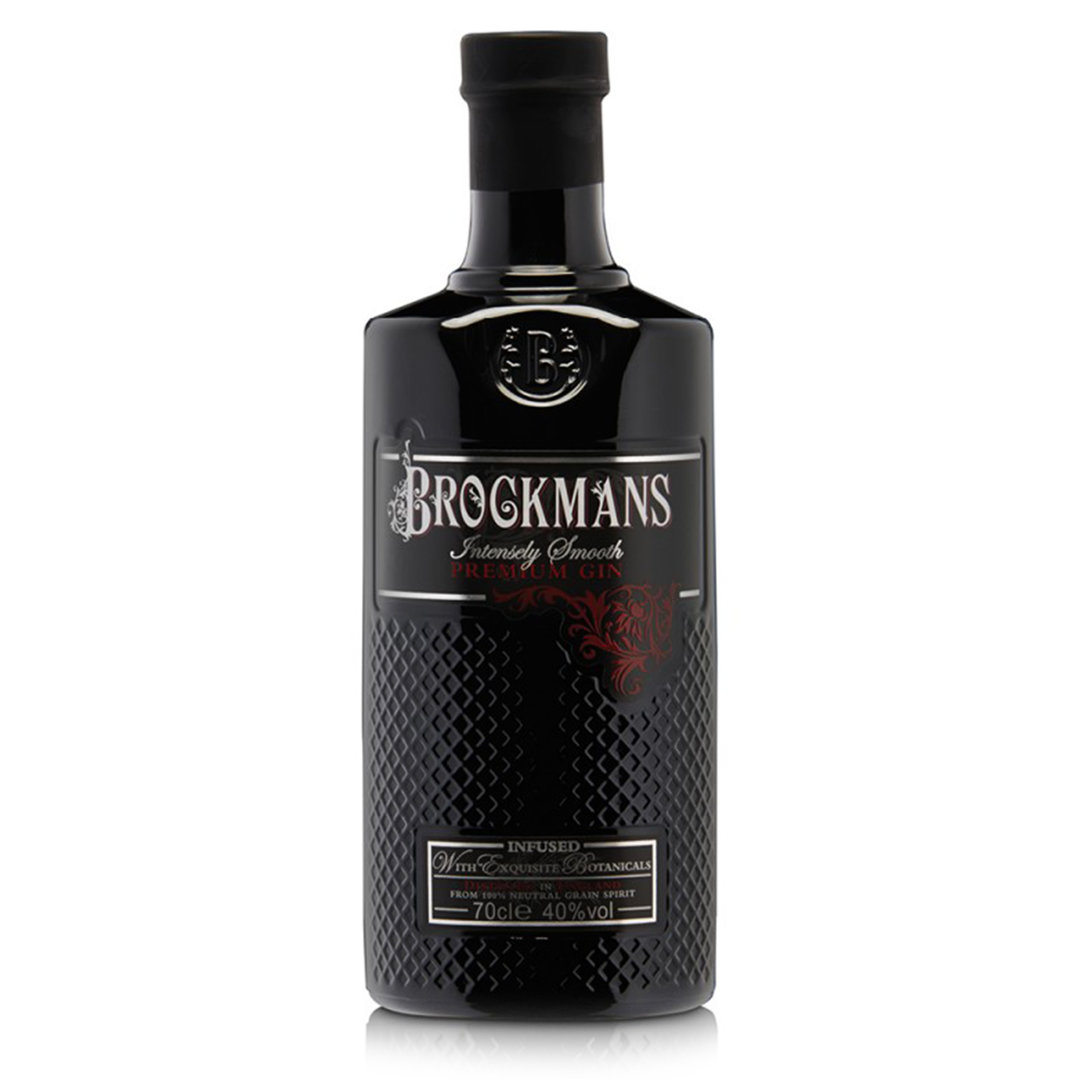 Brockman's Intensely Smooth Premium Gin - 70cl - Ginuine Ltd.