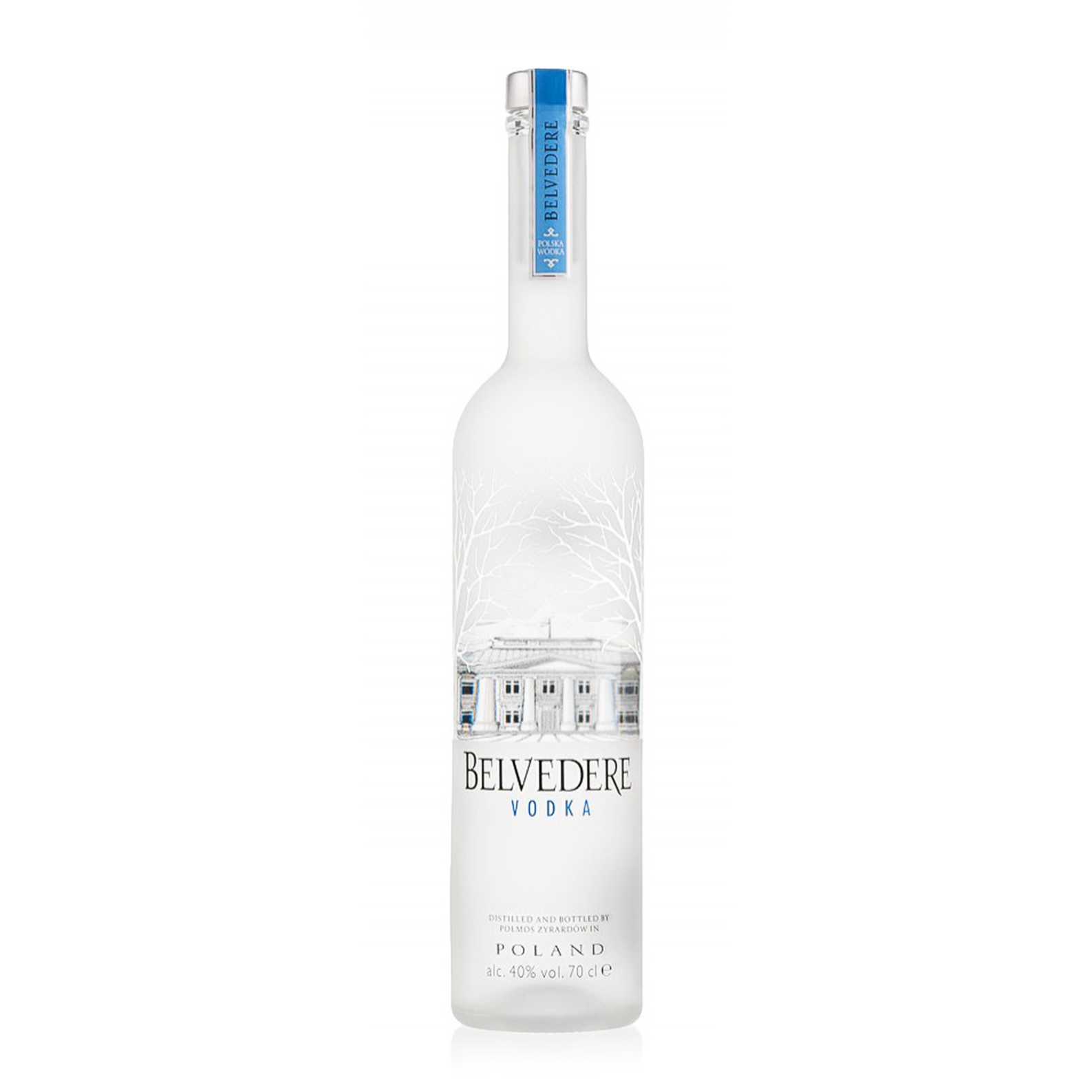 Pure Original Polish Luxury Vodka - 175cl - Belvedere