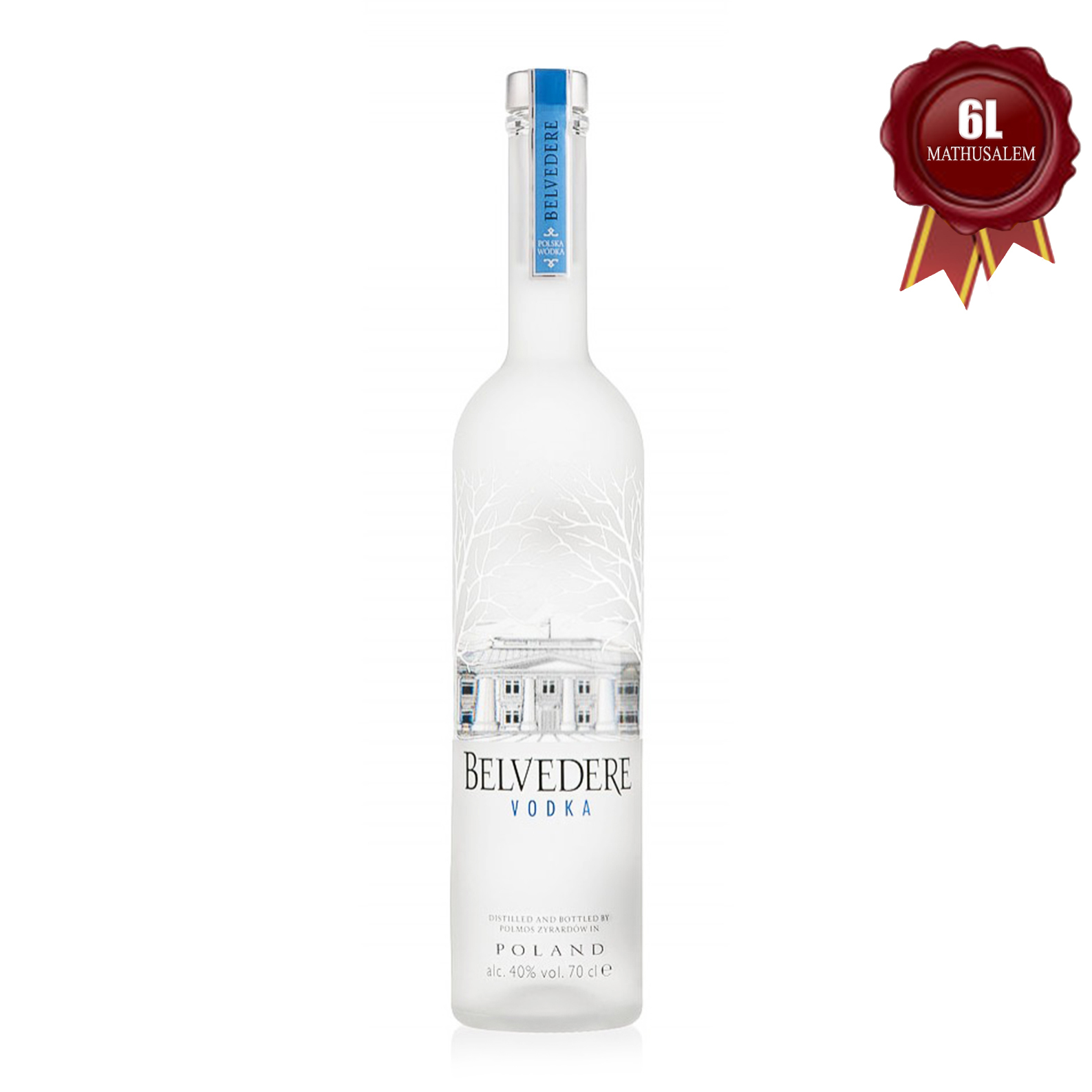 Pure Original Polish Luxury Vodka - 600cl - Belvedere