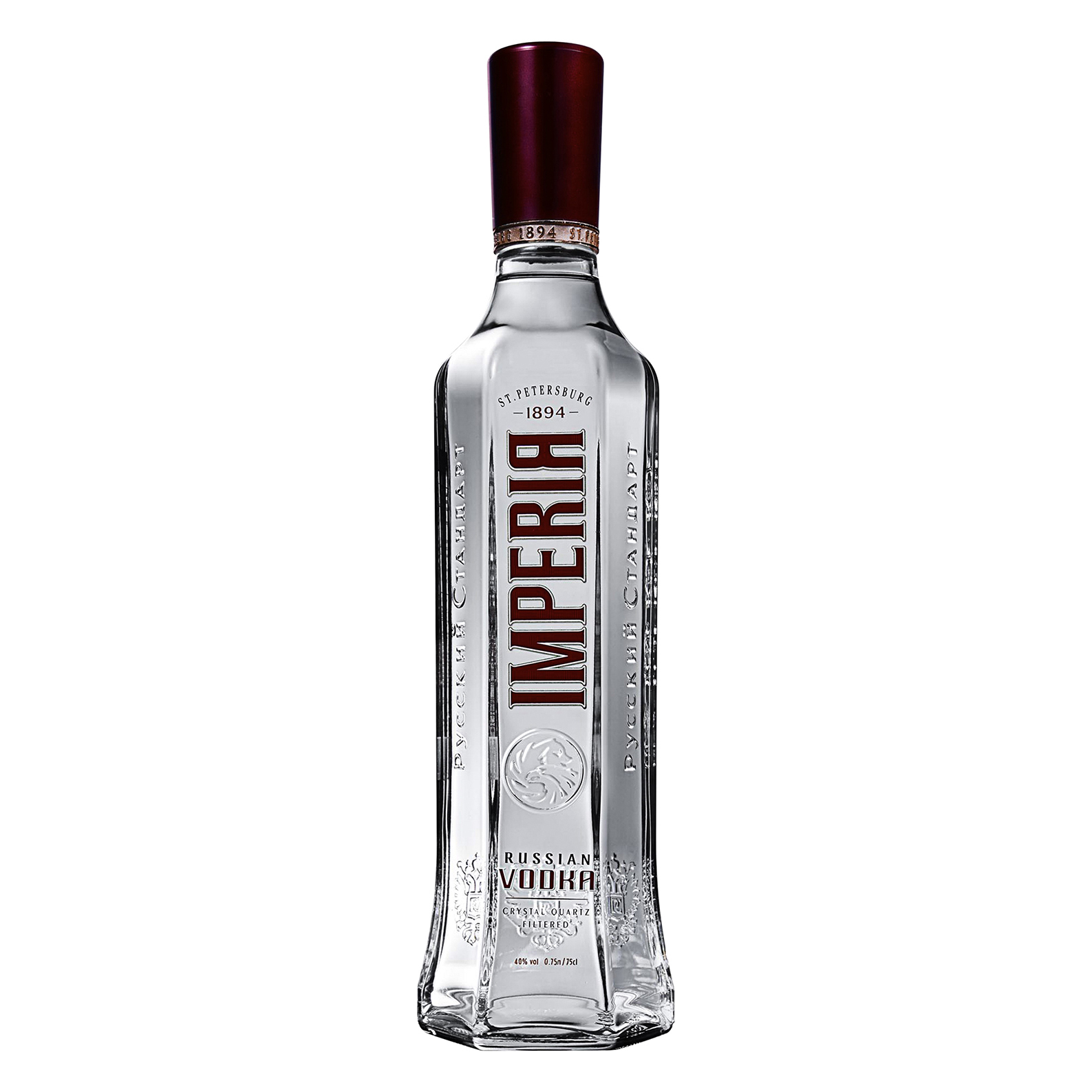 Russian Imperia Vodka - 175cl - Russian Imperia