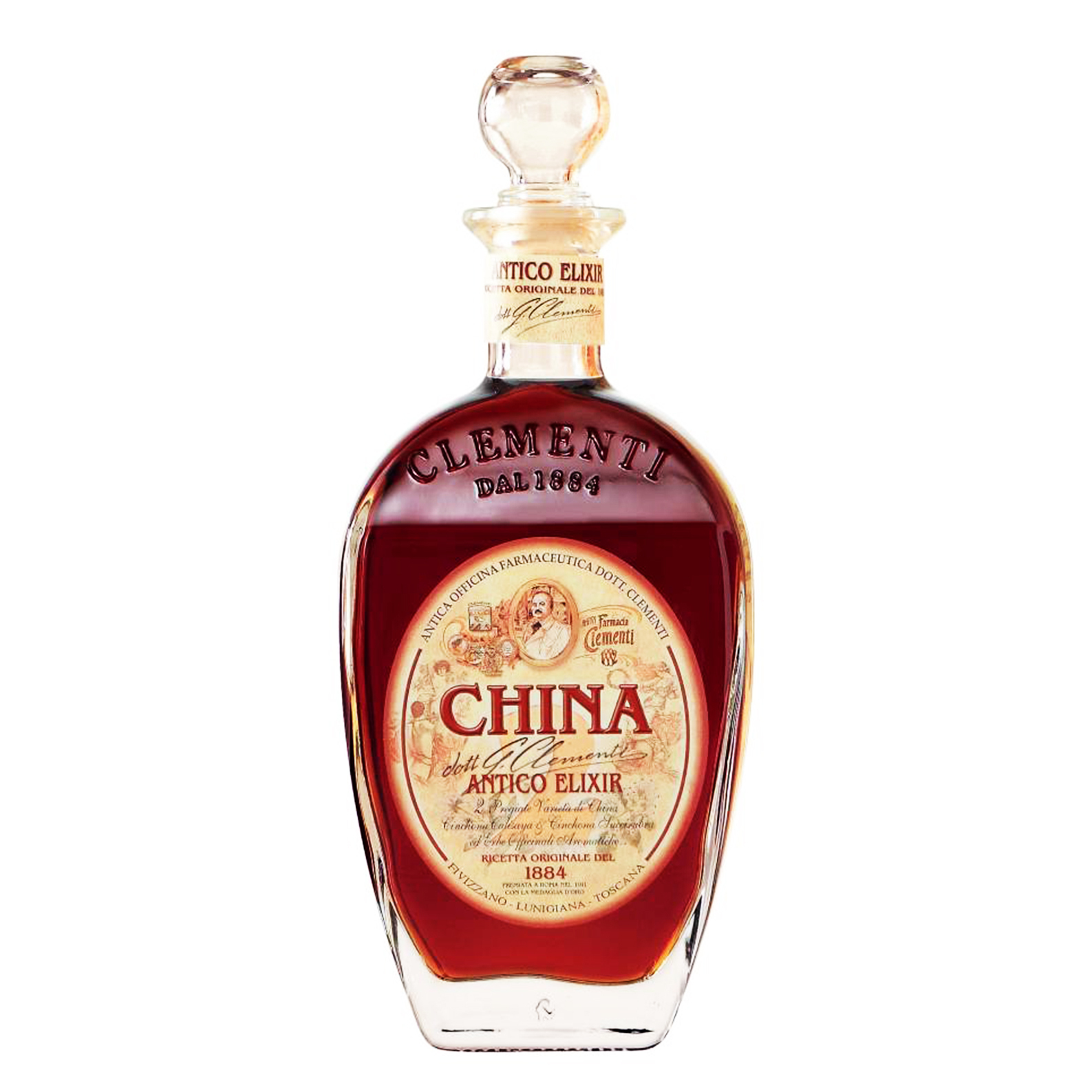 China Antico Elixir - Amaro - 70cl - Clementi