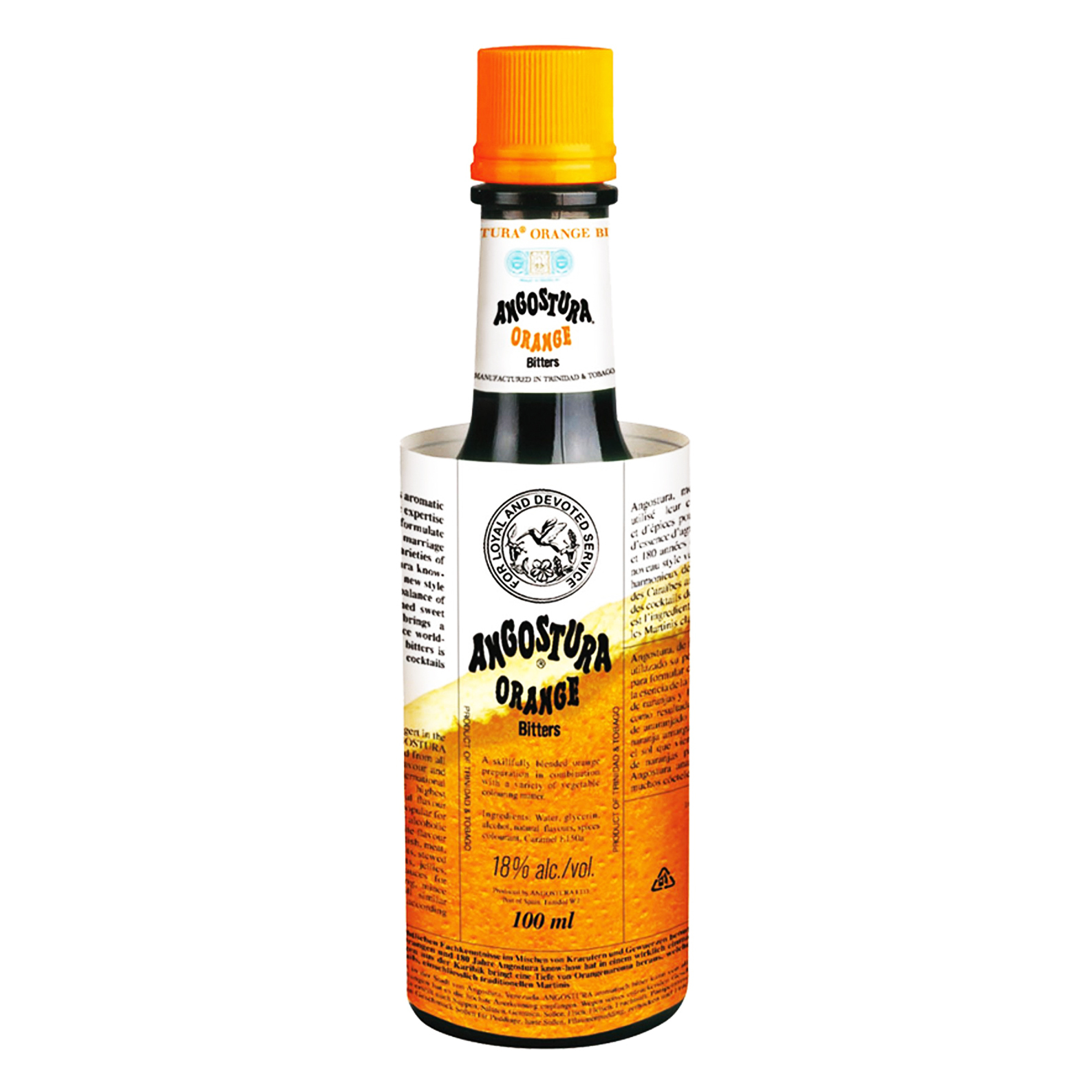 Angostura Orange Aromatic Bitters - Bitter Aromatico - 10cl - Angostura Ltd.