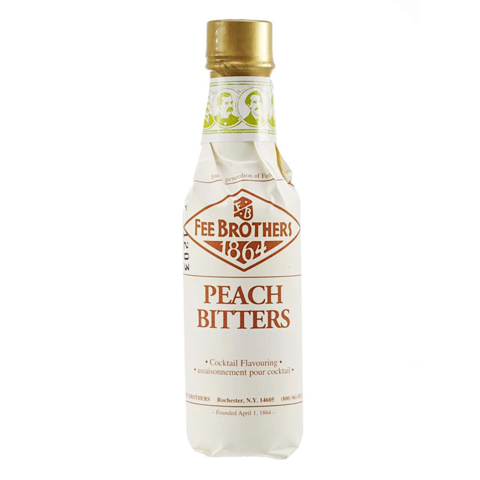 Fee Brothers 1864 Peach - Bitter Aromatico - 15cl - Fee Brothers