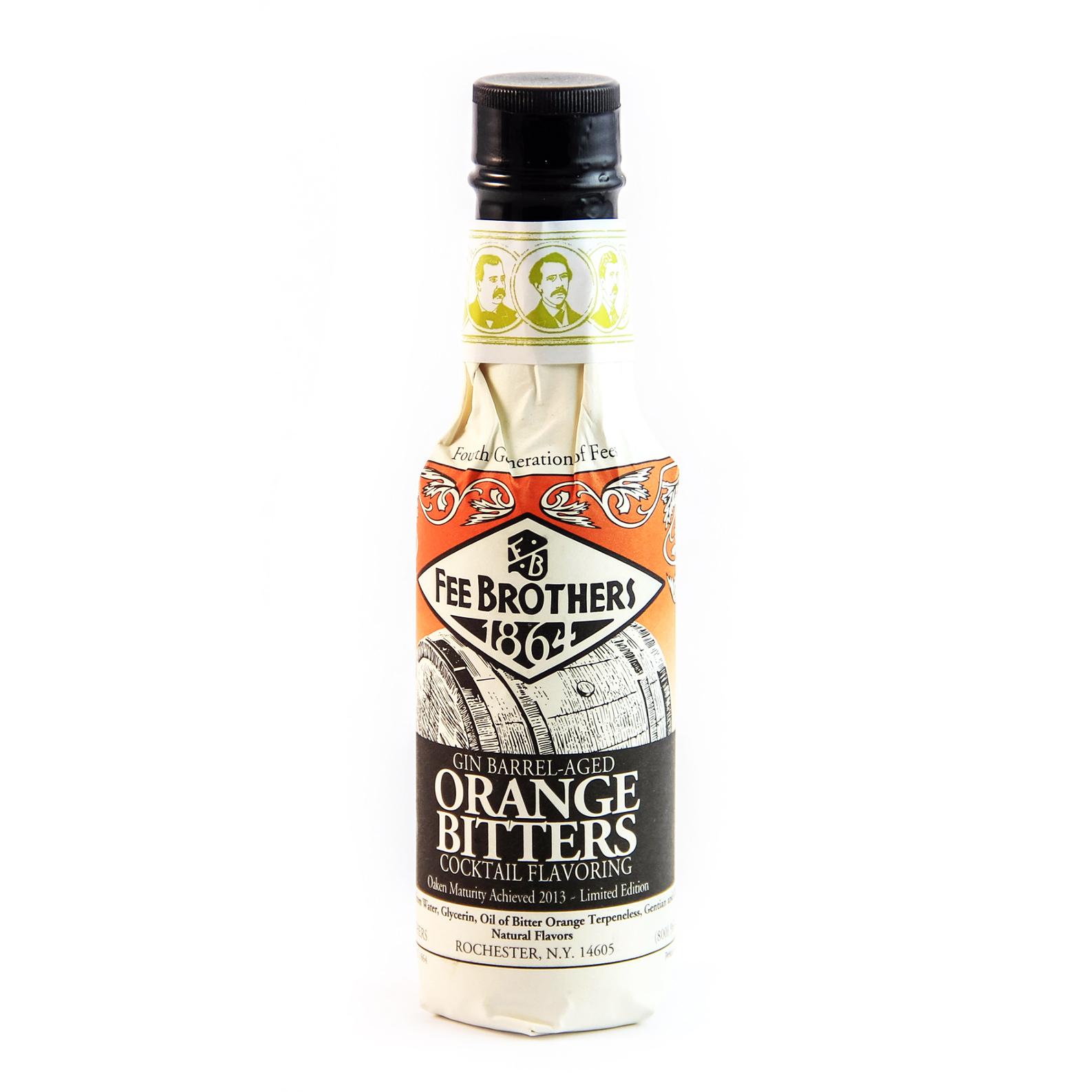 Fee Brothers 1864 Gin Barrel Aged Orange Bitters - Bitter Aromatico - 15cl - Fee Brothers