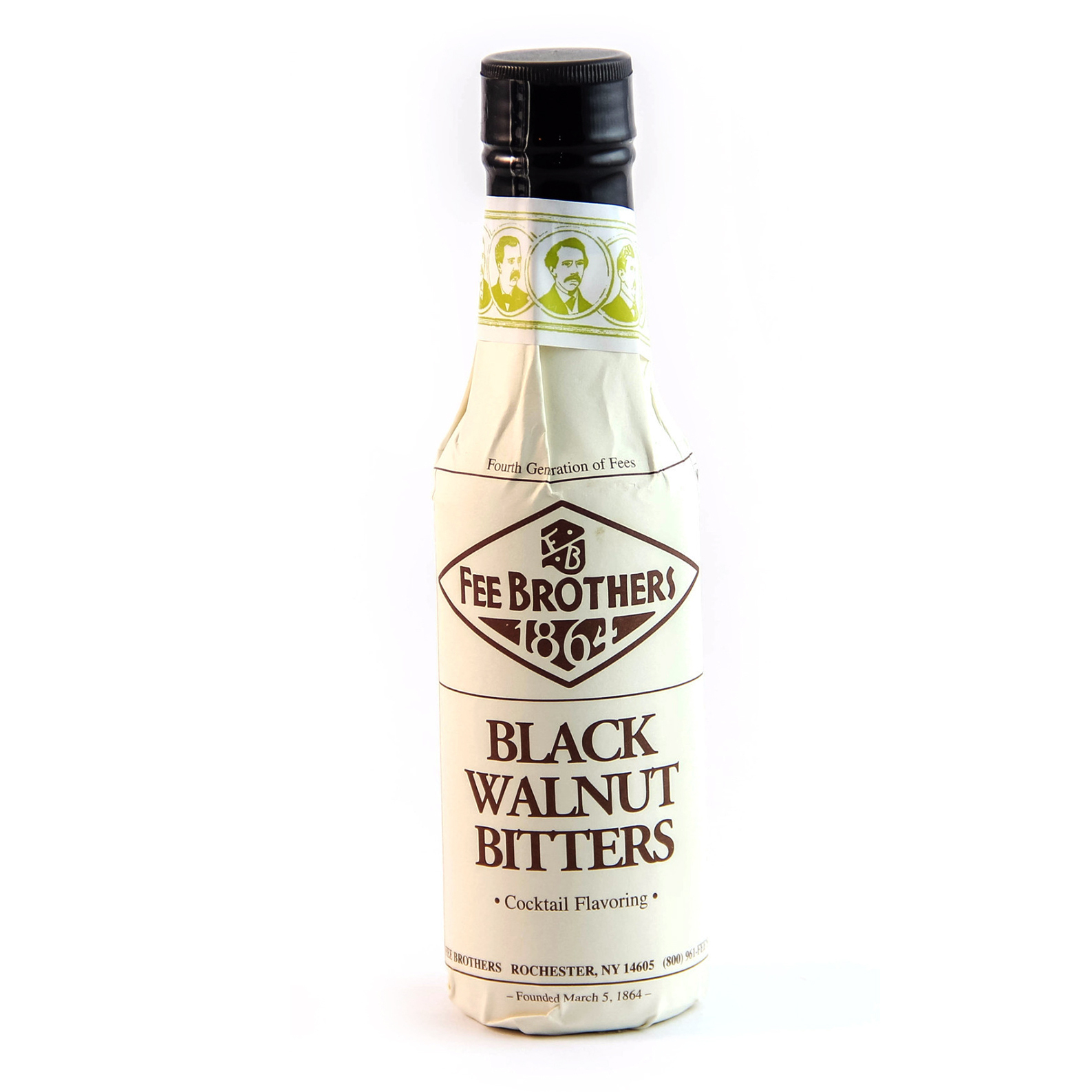 Fee Brothers 1864 Black Walnut - Bitter Aromatico - 15cl - Fee Brothers