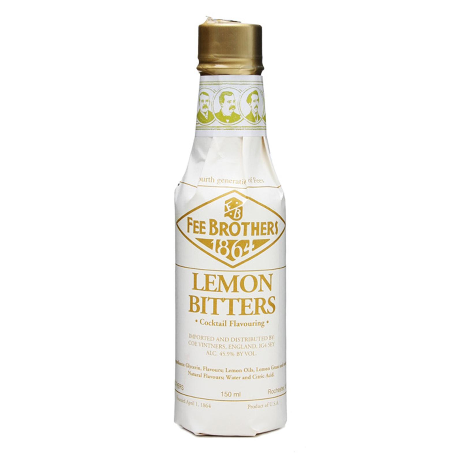 Fee Brothers 1864 Lemon Bitters - Bitter Aromatico - 15cl - Fee Brothers