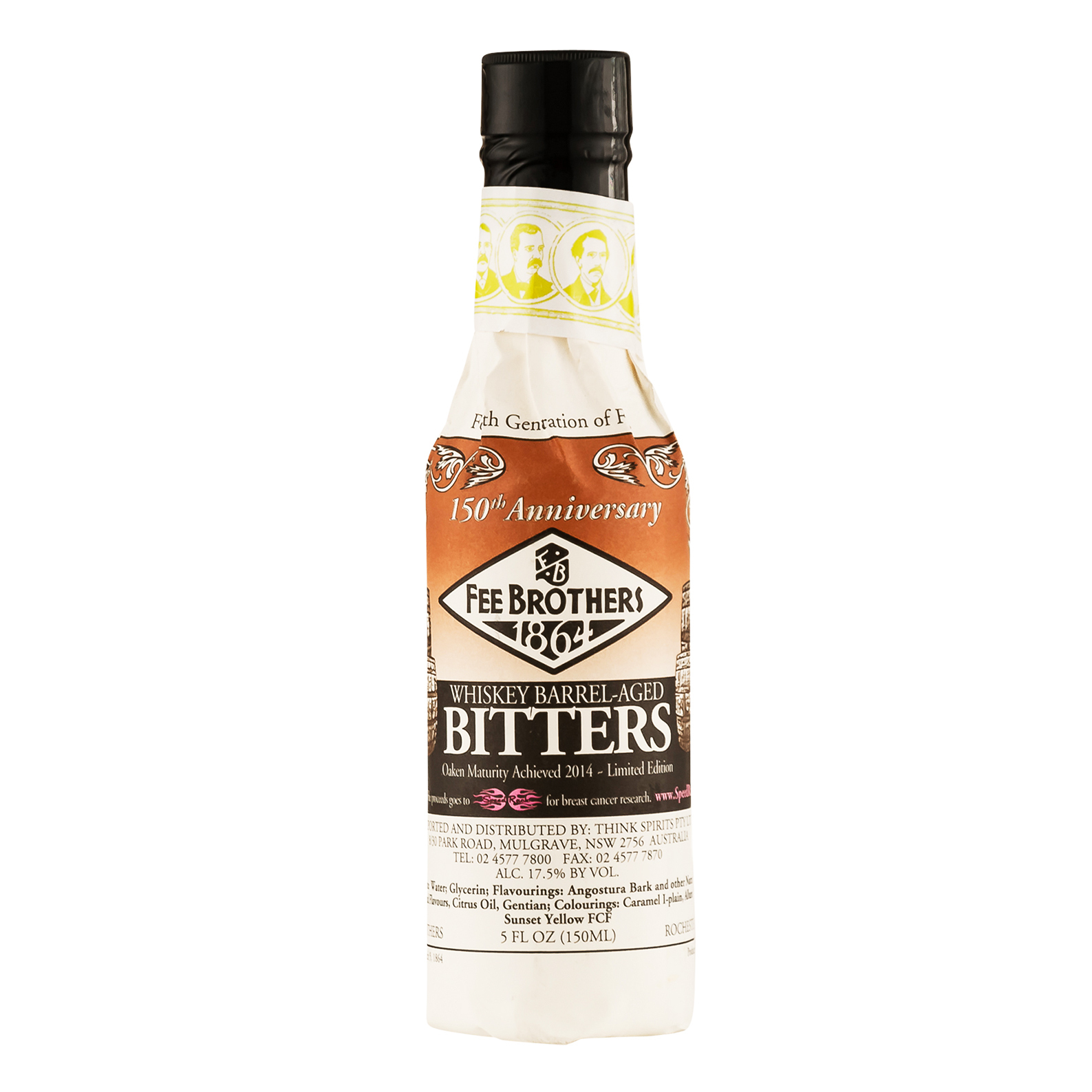 Fee Brothers 1864 Whisky Barrel Age Bitters - Bitter Aromatico - 15cl - Fee Brothers