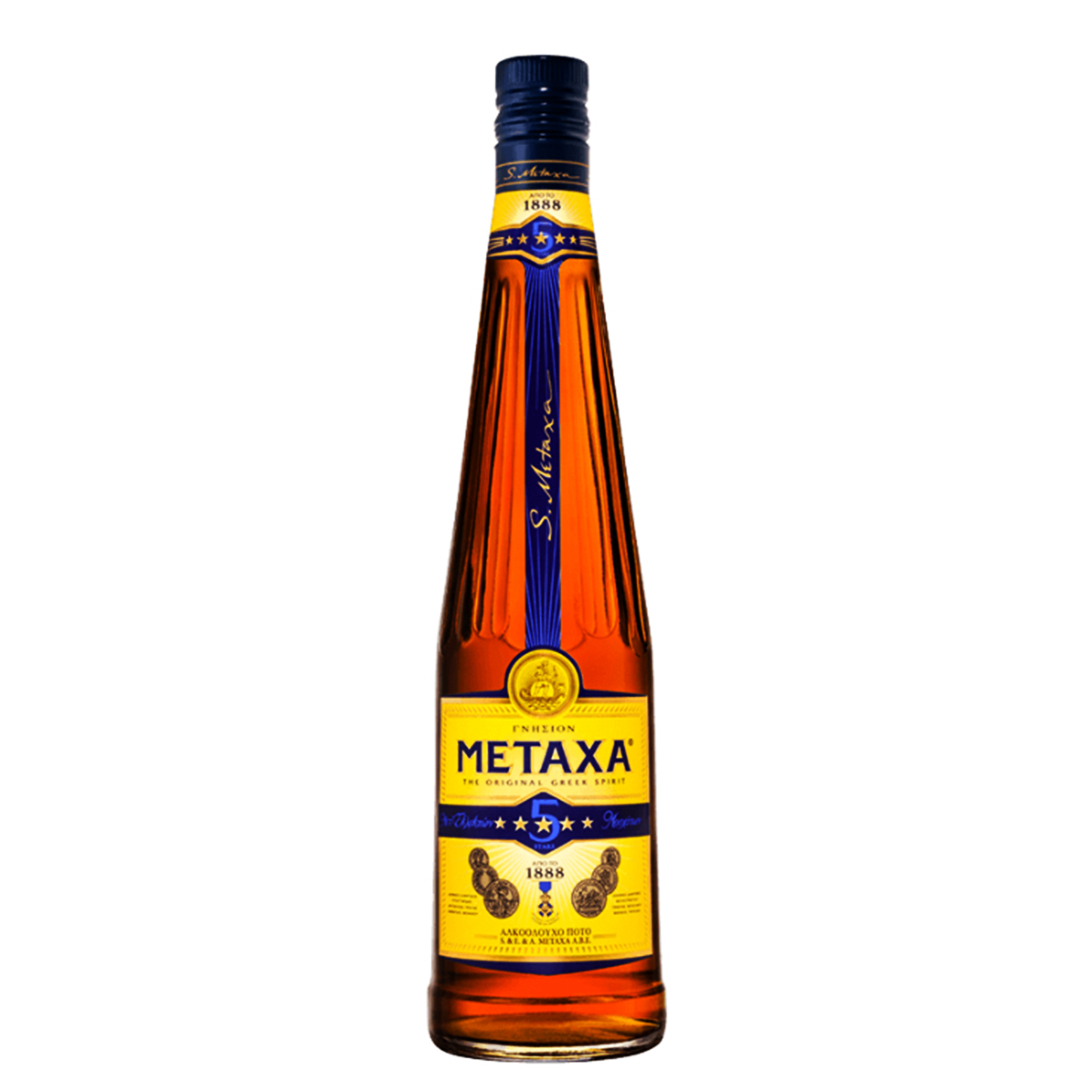Metaxa 5 Stelle ***** - Brandy - 70cl - S. Metaxa