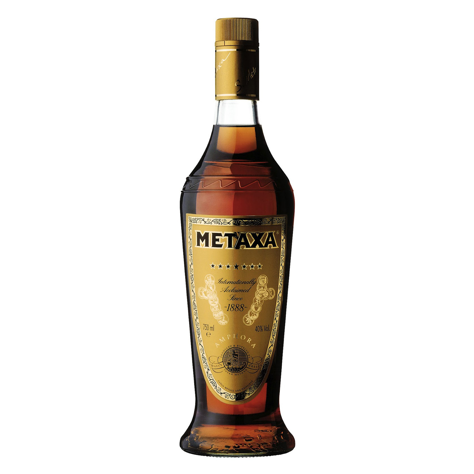 Metaxa 7 Stelle ******* - Brandy - 70cl - S. Metaxa