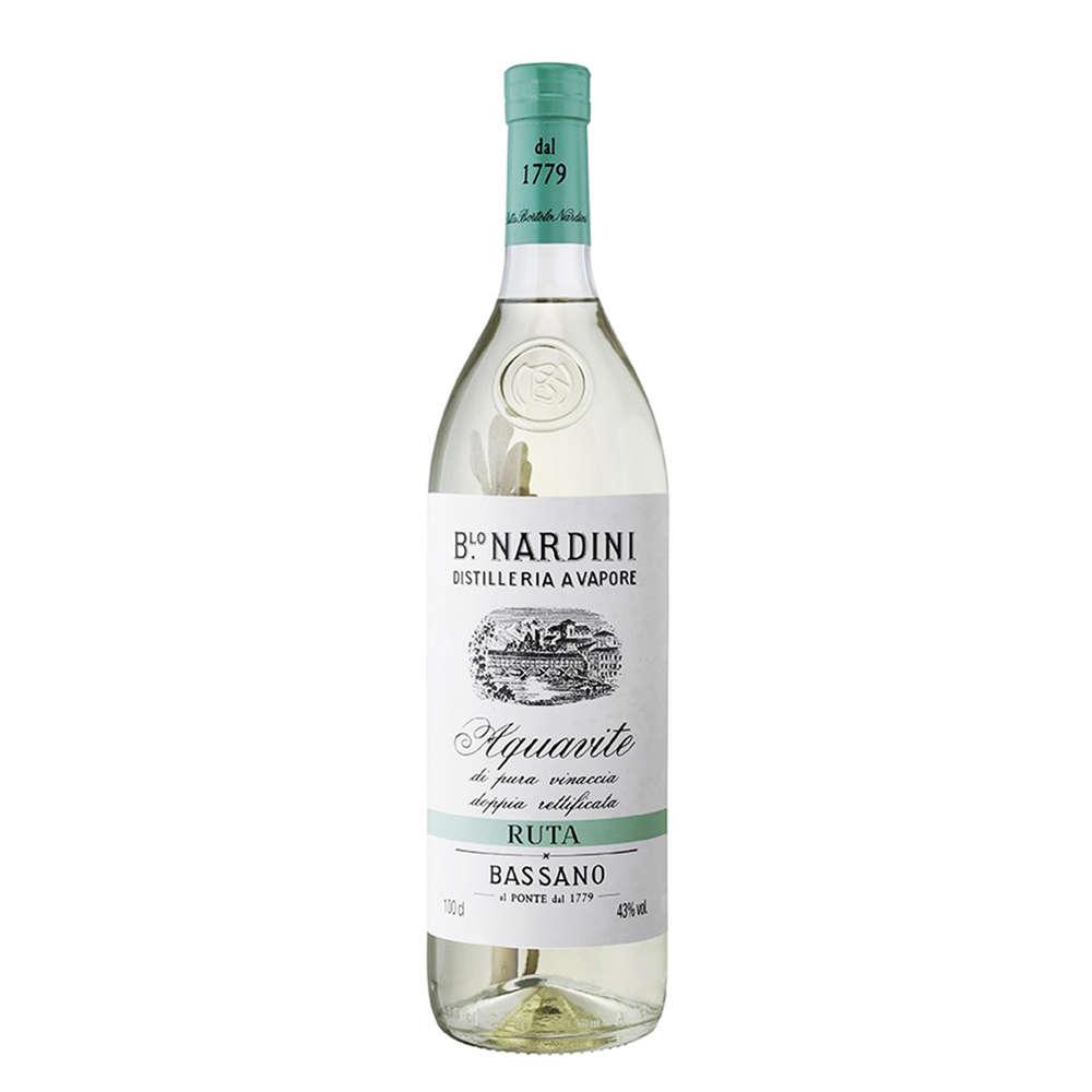 Acquavite di Pura Vinaccia Ruta - 1L - Grappa - B.lo Nardini