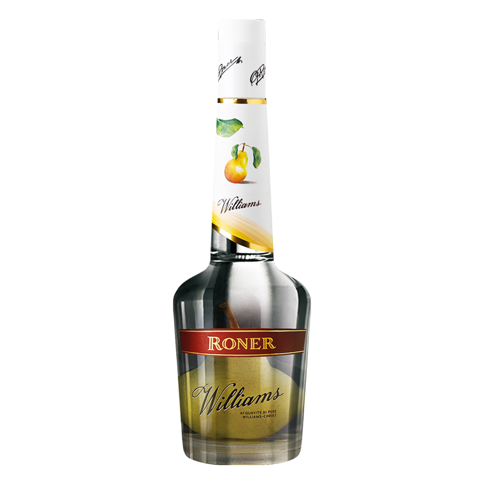William Roner Acquavite con Pera - 0.70 - Grappa - Roner