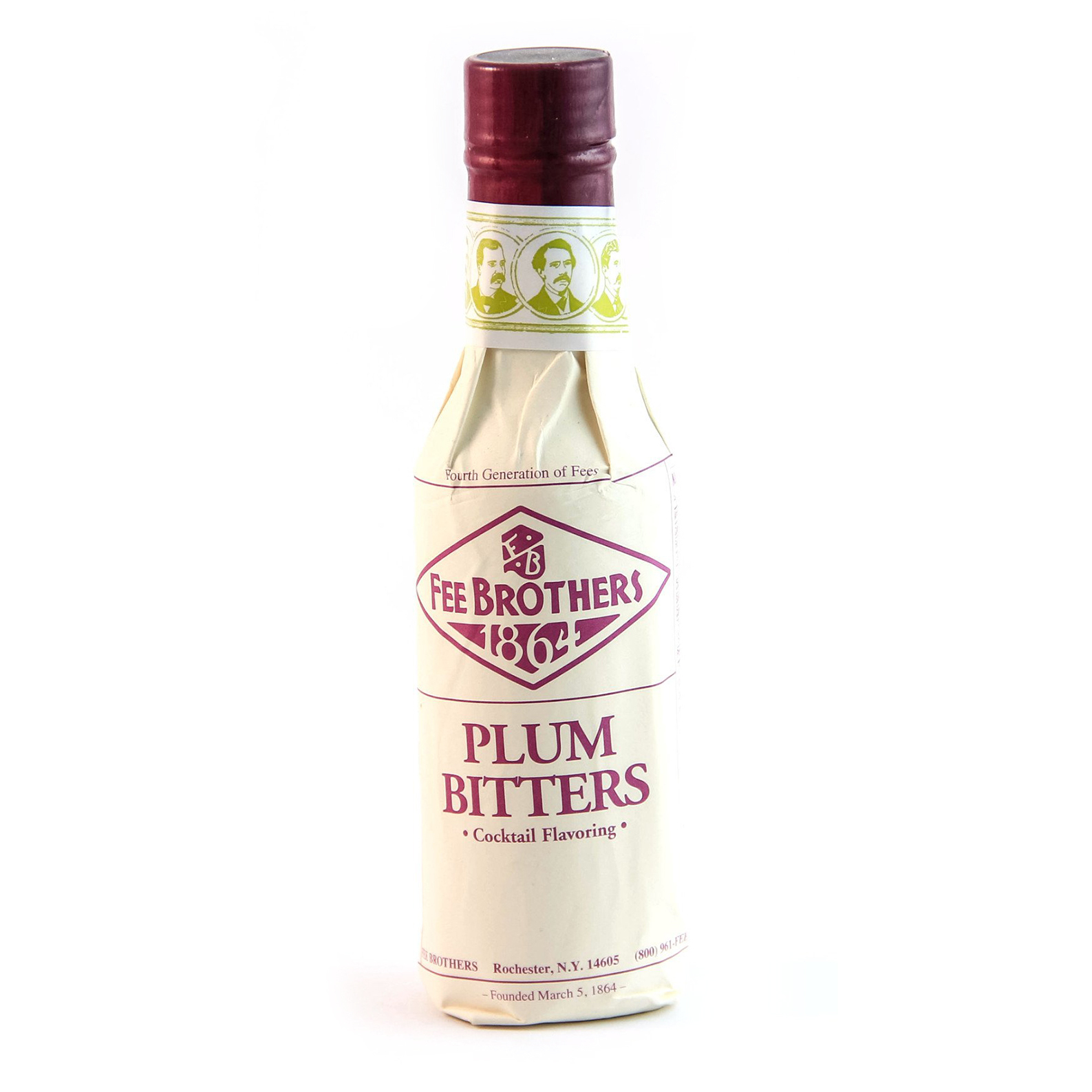 Fee Brothers 1864 Plum - Bitter Aromatico - 15cl - Fee Brothers