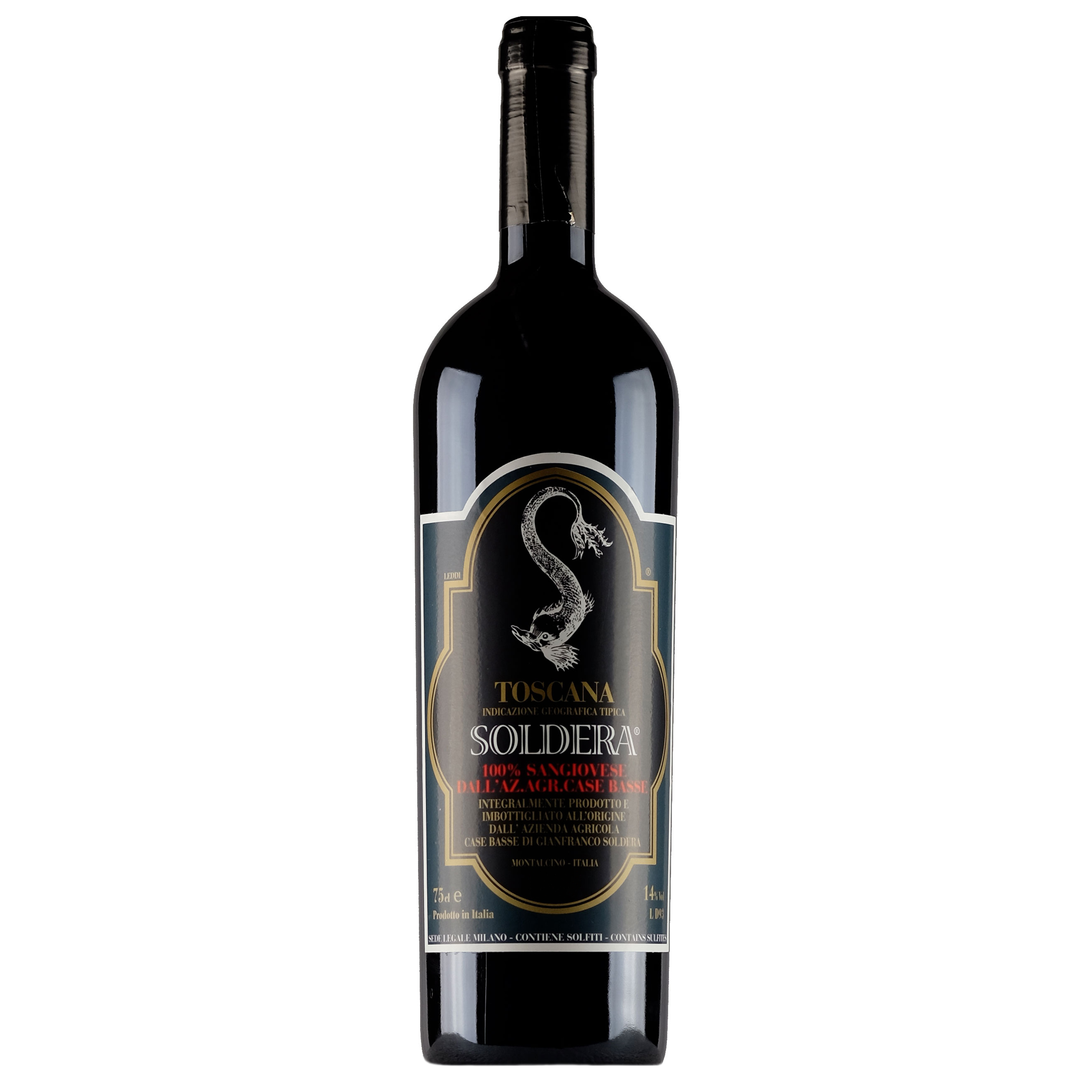 Toscana Sangiovese IGT 2006 Soldera - Vino Rosso - Case Basse